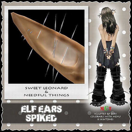 __LEO-NT__ ELF EARs _SPIKED_