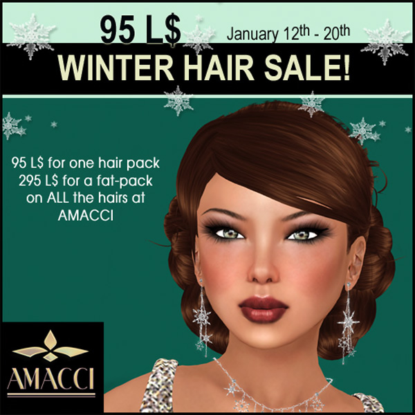 Amacci Winter Hair Sale 2013