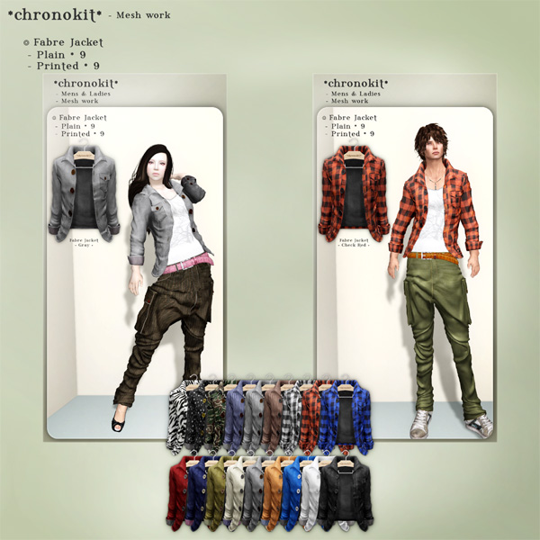 chronokit_  Fabre Jacket poster _ all color _