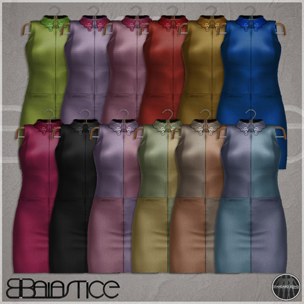 Baiastice_Cutout leather dress-Colours