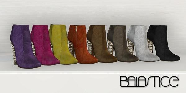 Baiastice_Ellen ankle boots-suede pack