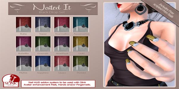 Nailed it Vendor - Black Drop Set