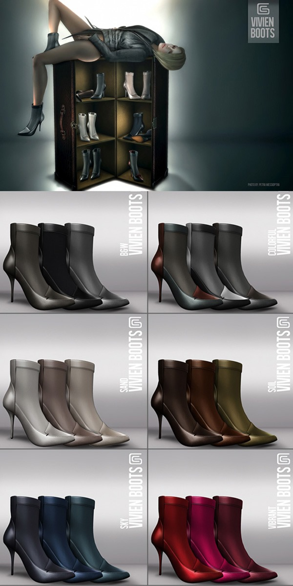GizzA - Vivien Boots Color