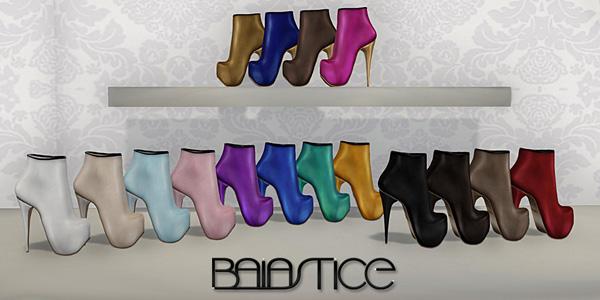 Baiastice_Lunar ankle boots-colors