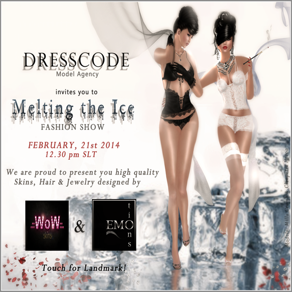 INVITATION DRESSCODE _MELTING THE ICE_ _ 21.02.14