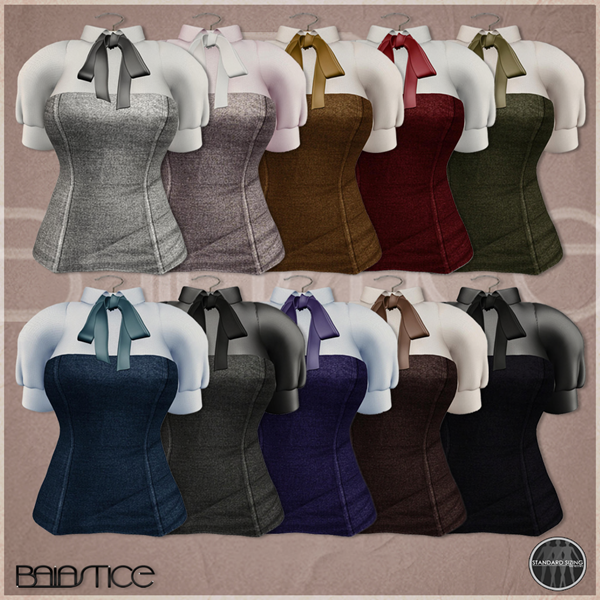 Baiastice_Wify Corset & Shirt-colors