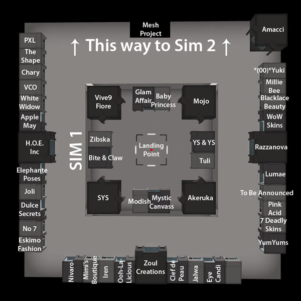 The Skin Fair 2014 - Map - Sim 1 copy