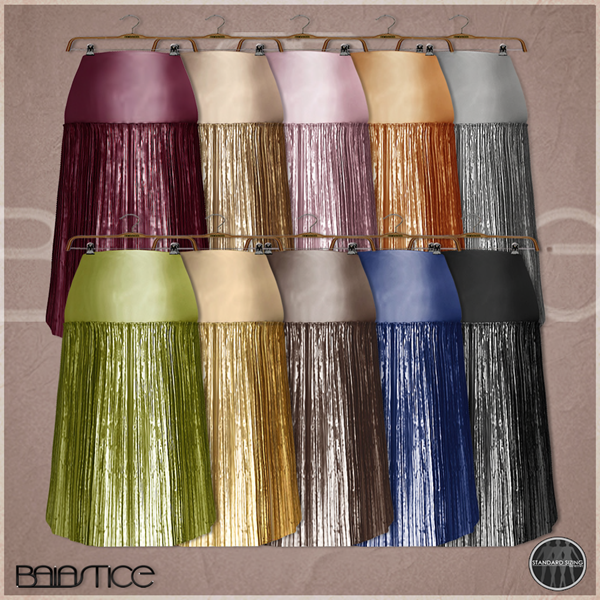 Baiastice_Metallic Plisse Skirt-colors
