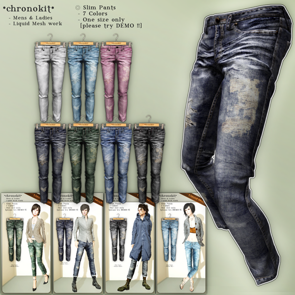 chronokit_ Slim Pants Poster