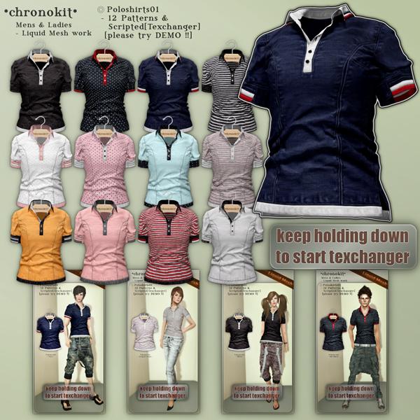 chronokit_ Poloshirts01 poster