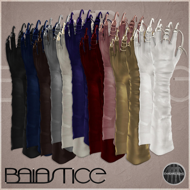 Baiastice_Long gloves with claws-all colours pack