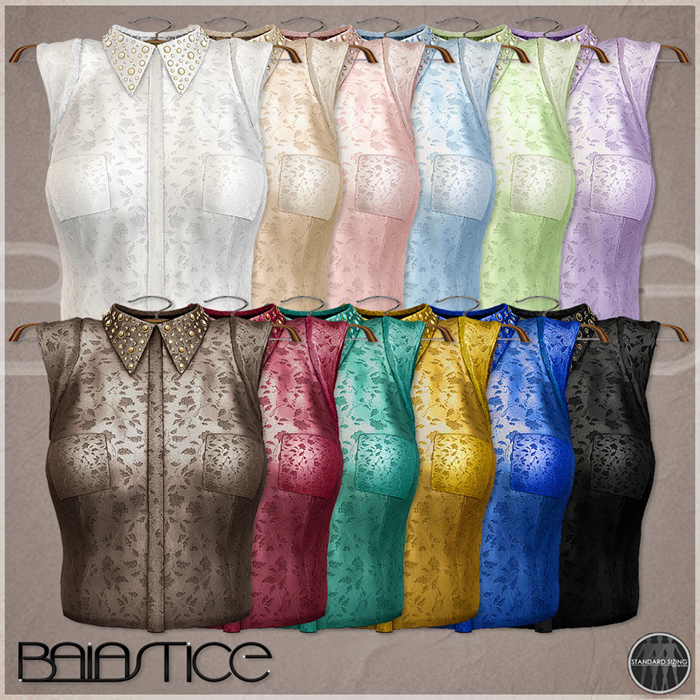 Baiastice_Gina Blouse-ALL COLORS