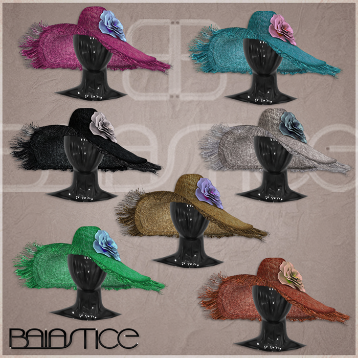 Baiastice_Delilah Mare Big Hat-All Colors