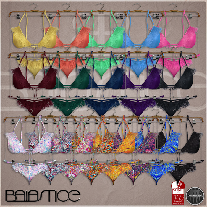 Baiastice_Fringe Micro Bikini-All Colors